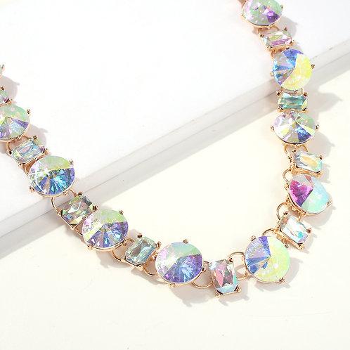AB Stone Choker Necklace