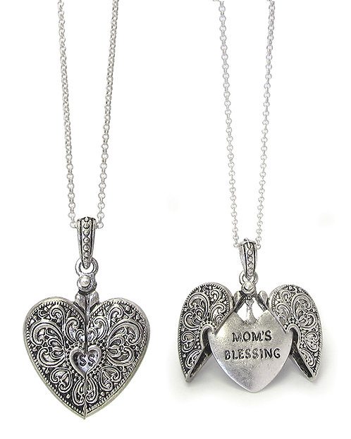 Mother's Day Mom's Blessing Necklace