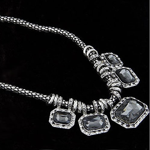 Beautiful Rhinestone Rope Necklace