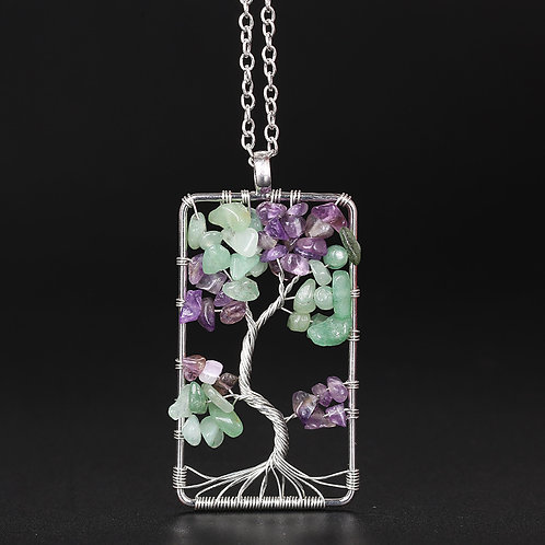 Tree Of Life Wired Necklace