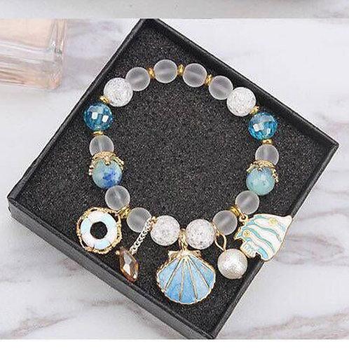 Sea Life Theme Stretch Bracelet