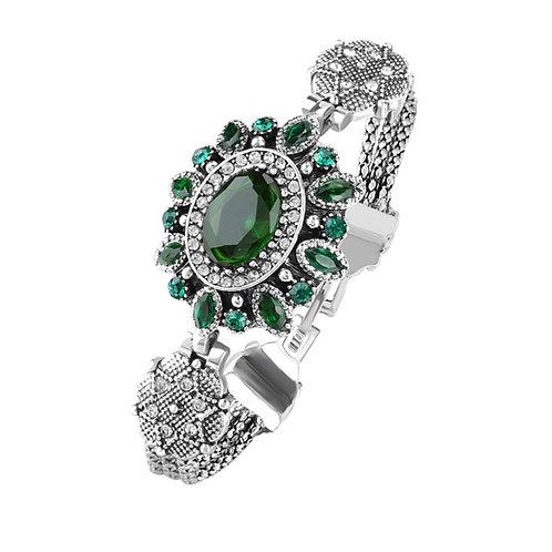 Vintage Style Glass Crystal Bracelet