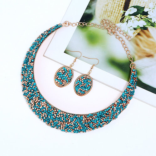 Sparkly Cuff Choker Necklace