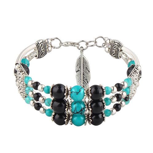 Southwestern Design Beaded Bracelet