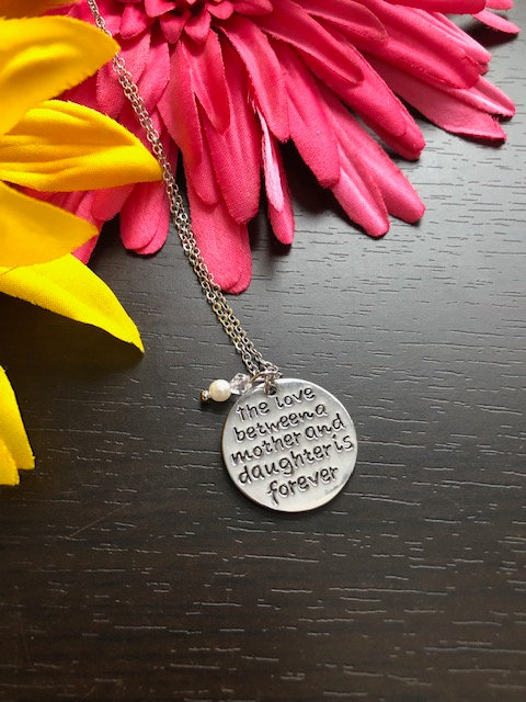 Mother's Day Mother & Daughter Love Heart Necklace