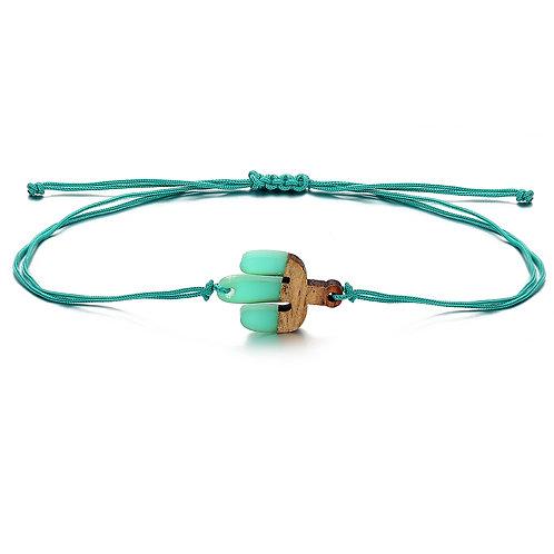 Cactus Resin Bracelet