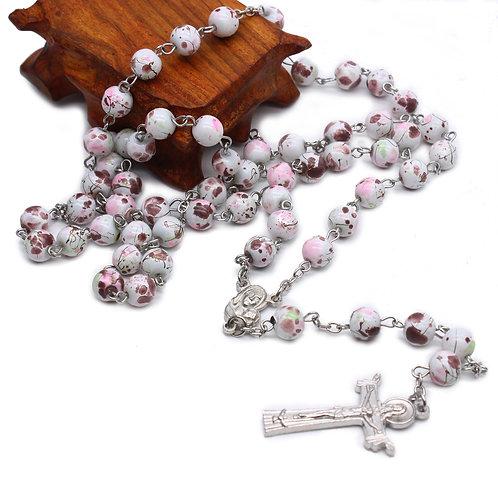 Cracked Bead Rosary