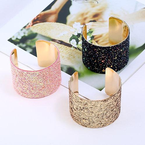 Glittering Cuff Bracelet