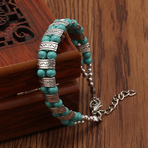 Western Design Turquoise Bracelet