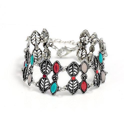 Multi Stone Boho Bracelet