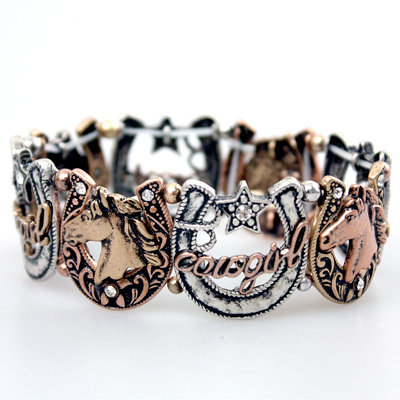 Multi Color Cowgirl Bracelet
