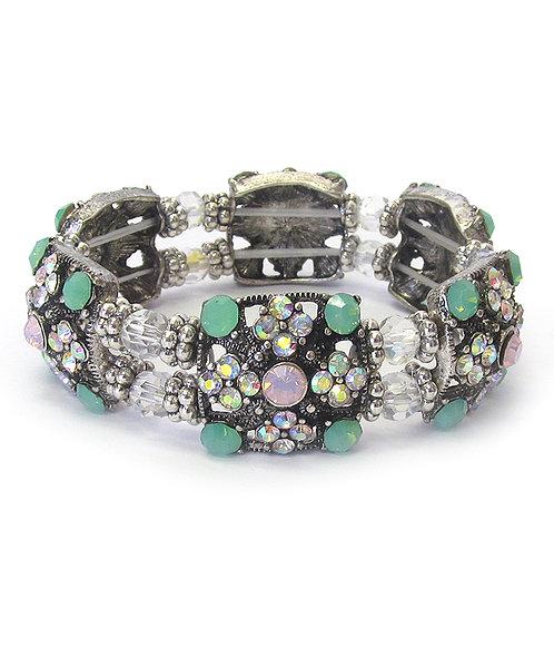 Sparkly AB Color Stretch Bracelet