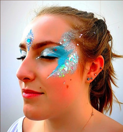 GLITTER FACE Painted Face