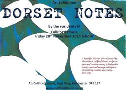 Dorset Notes Exhibition 20 Nov 2015