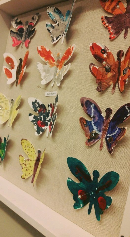 Butterflies each handpainted