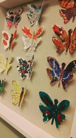 Butterflies each handpainted