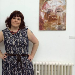 Me at a Personal Exhibition