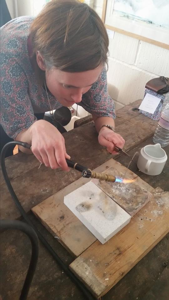 Jewellery making -Purbeck Workshop