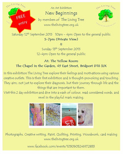 Living Tree Exhibition Invite