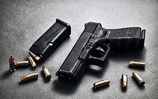 Arme de poing et munitions