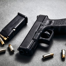 59% of perpetrators used a fire arm.