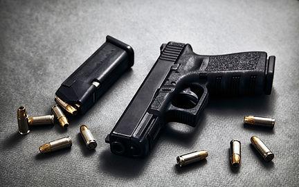 Pistole a munice