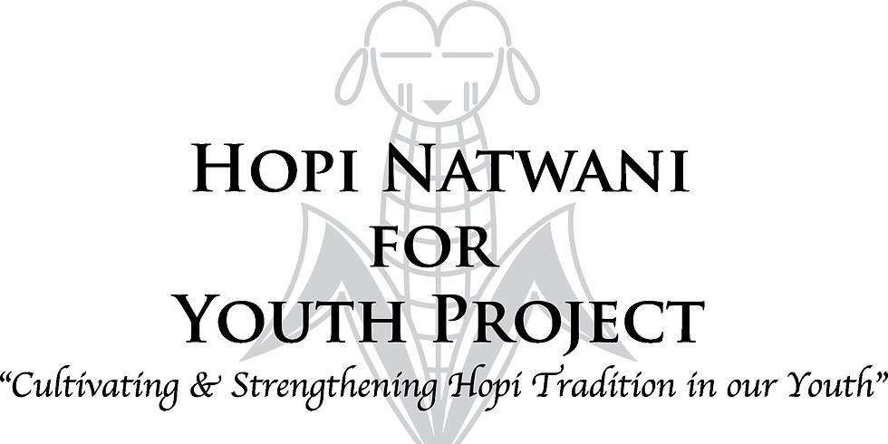 Hopi Natwani for Youth Project Training