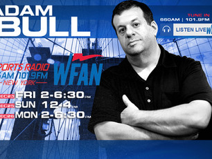Upcoming WFAN appearances