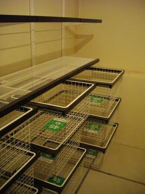 Выдвижные корзины системы Эльфа