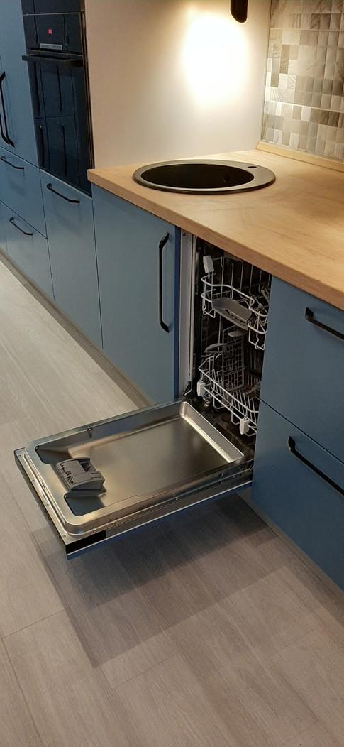 посудомечная встр машина