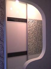 Перемещаемые двери с декором ул Глинки
