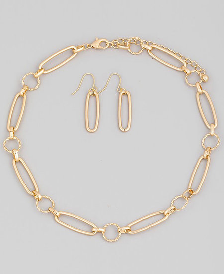 Classy Chain Link Set