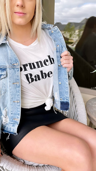 Brunch Babe Tee