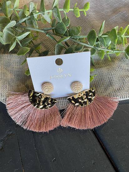 Seebead Tassel Earrings