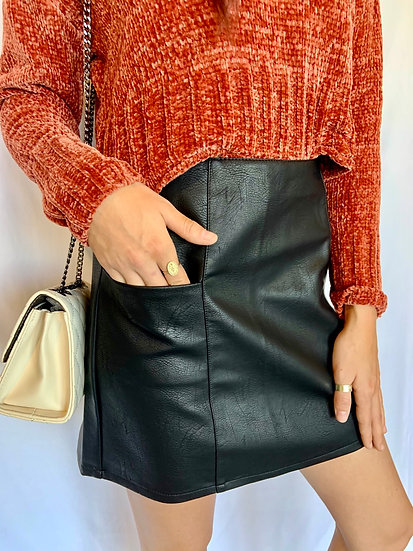 Black Out Skirt