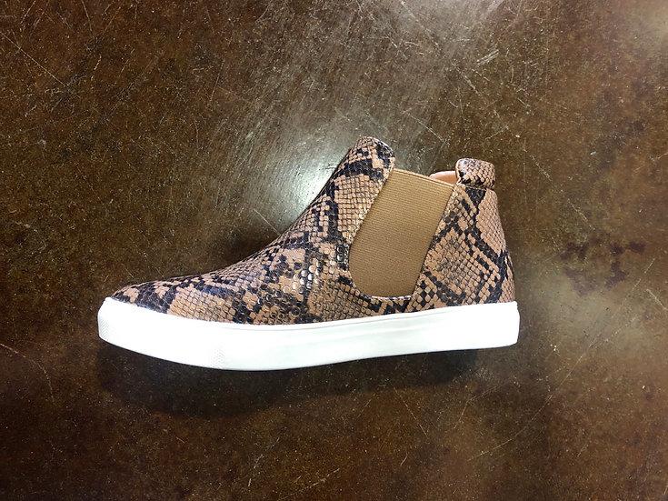Brown Snake Sneakers