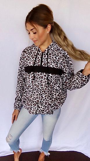 Leopard Raincoat
