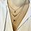 Thumbnail: Layered Arrow Necklace