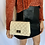 Thumbnail: Cream Quilted Crossbody Purse