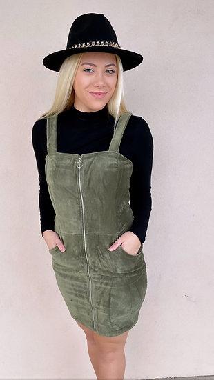 Vintage Olive Dress