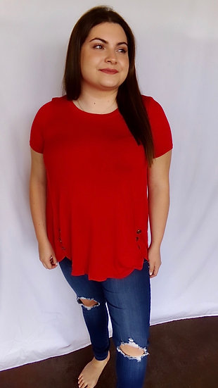 Ruby Red Top