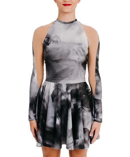 KARI - Circle Skirt Print
