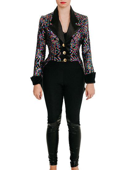 LETTIE - Jacket Specialty Sequin