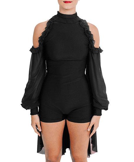 JOSEPHINE - Back Skirt Lycra/Mesh