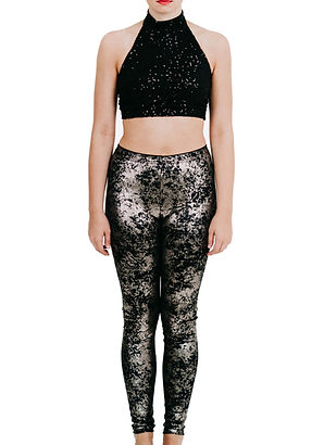 leggings-metallic velvet-silver-front.jp