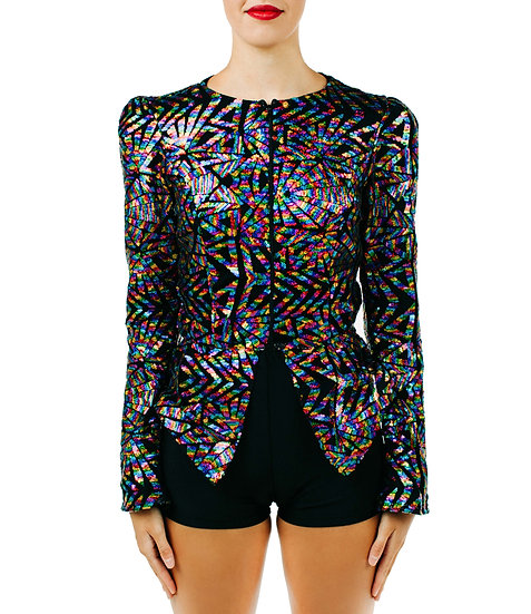 LONDON - Jacket Specialty Sequin