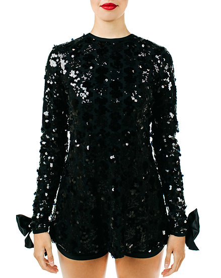 JAZZY - Mini Dress Specialty Sequin