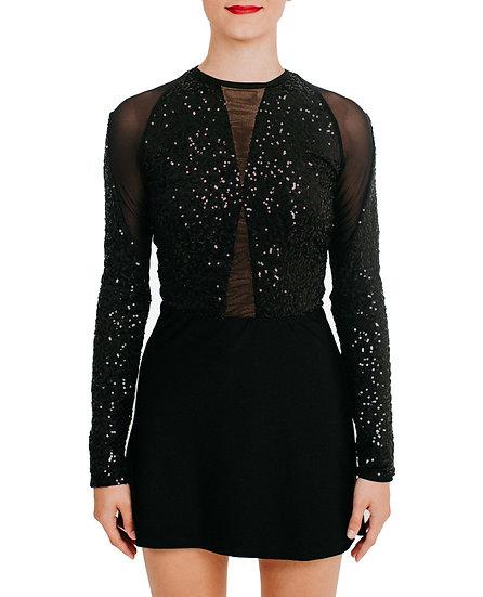 TASHA - A-line Sequin Knit