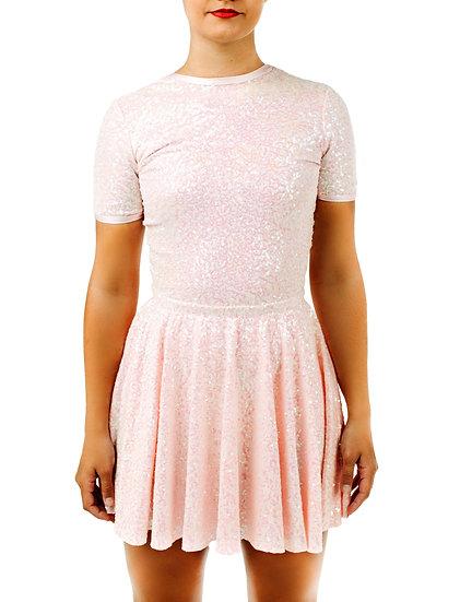 KATELYN - Circle Skirt Sequin Knit