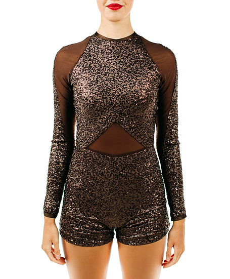 KENNEDY - Biketard Sequin Knit